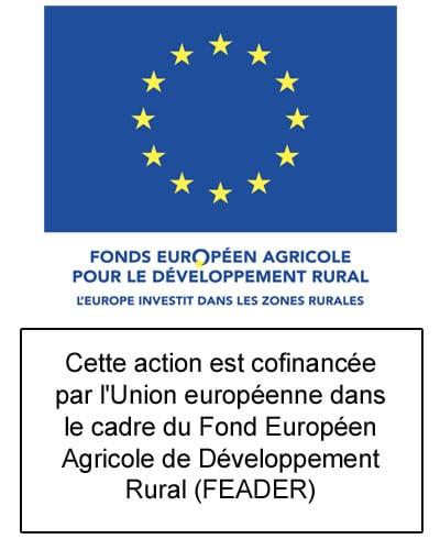 Logo Union européenne-FEADER-texte