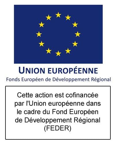 Logo Union européenne-FEDER-texte