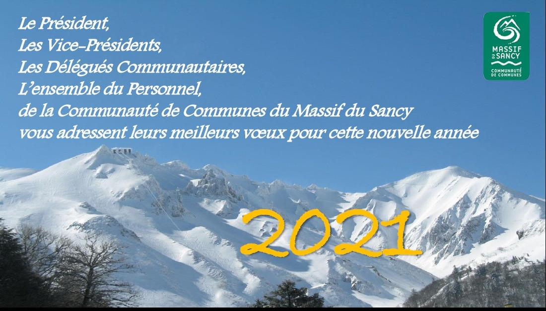 Sancy Meilleurs vœux pour cette nouvelle année