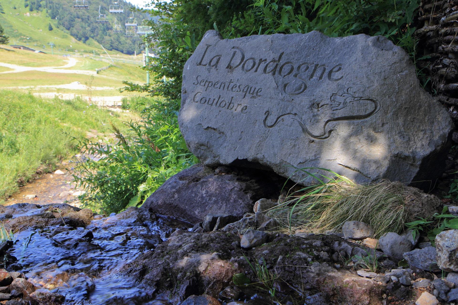 Source de La Dordogne