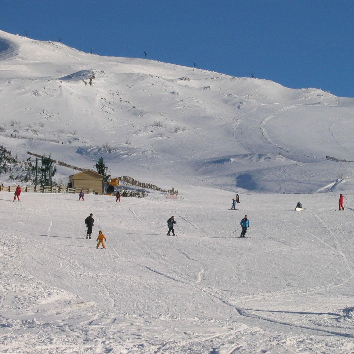 Station de ski à Chastreix